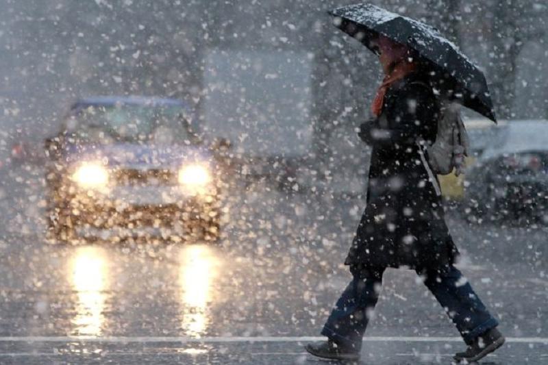 24日哈萨克斯坦大部分地区迎来降雨和大风