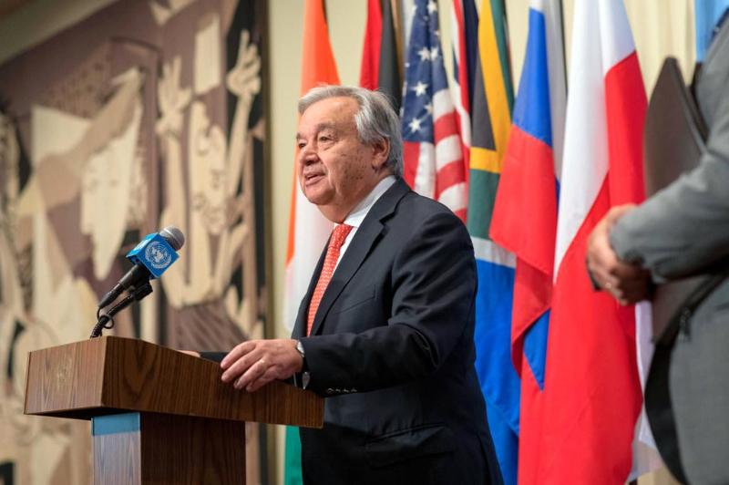 联合国秘书长对英国一货车中发现39具尸体表示震惊