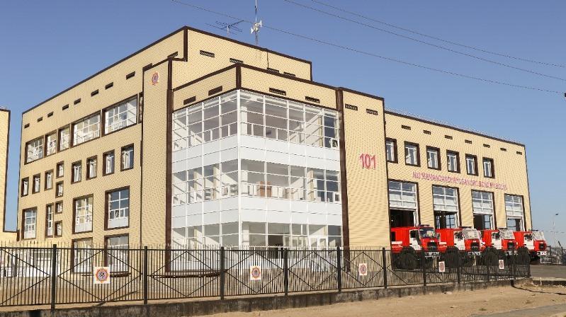 В Атырау открыли новое пожарное депо