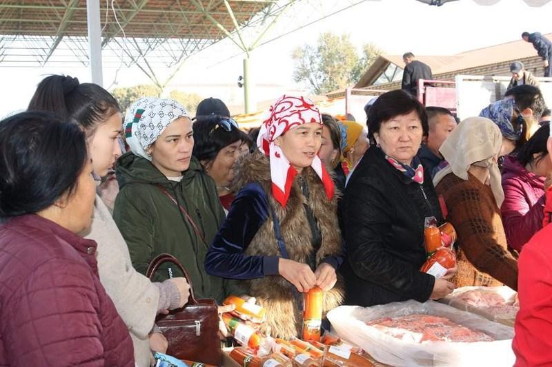 Арыс қаласында «Алтын күз–2019» жәрмеңкесі өтті