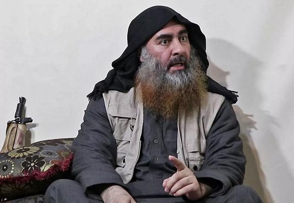 """特朗普宣布""""伊斯兰国""""最高头目巴格达迪在美军袭击中自杀身亡"""