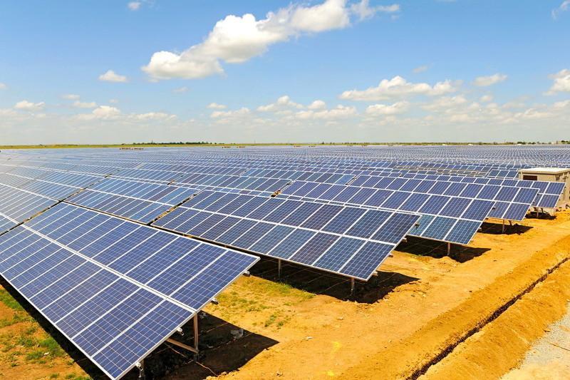 Четвёртую солнечную электростанцию начали строить в Карагандинской области