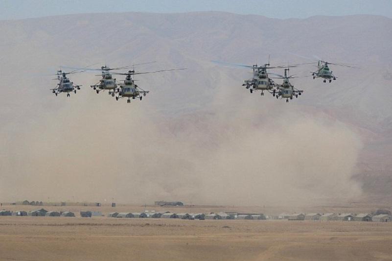 集安组织维和部队举行维和演练