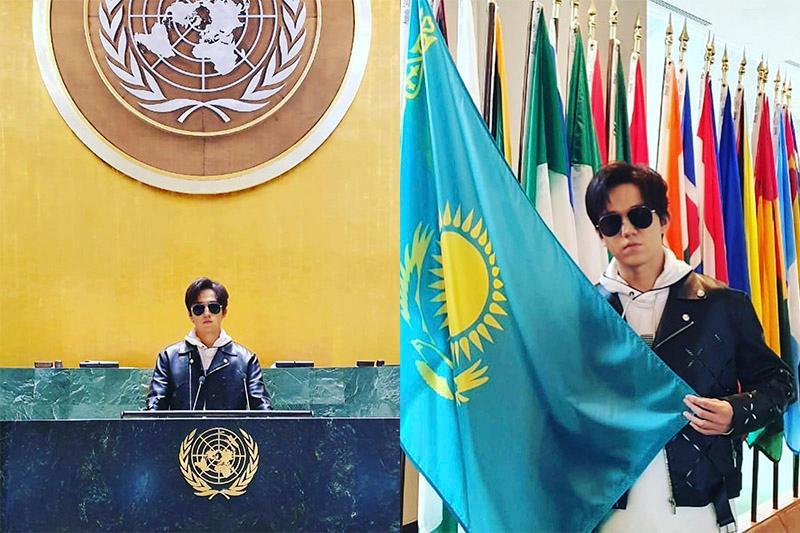 Сделайте, чтобы никогда не было войны – Димаш Кудайберген посетил штаб-квартиру ООН