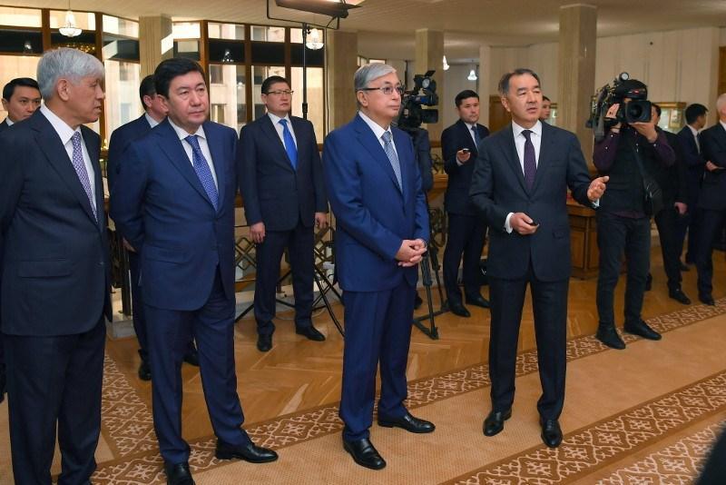President Tokayev familiarizes with Almaty-2050 Development Strategy