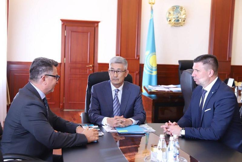 Маңғыстау облысының әкімі Хорватия делегациясымен кездесті