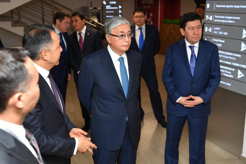 ҚР Президенті Алматыдағы «Инвестиция үйіне» барды
