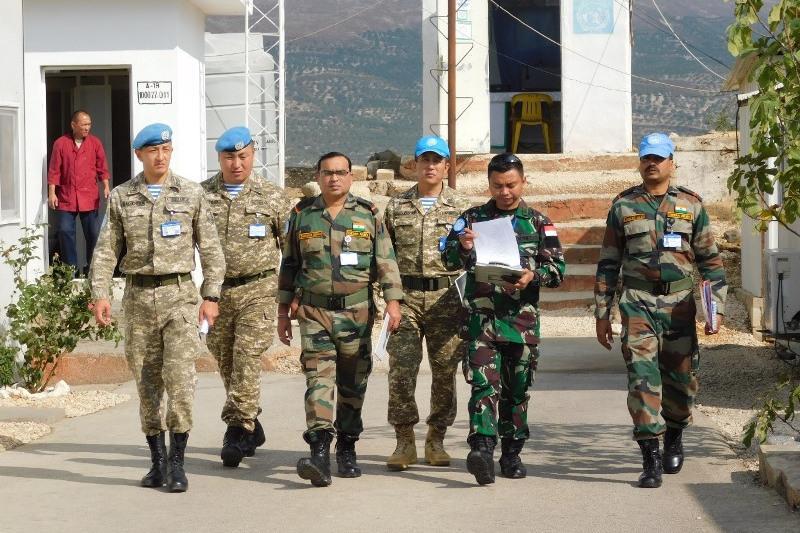哈萨克斯坦第二批赴黎巴嫩维和部队通过联合国装备核查