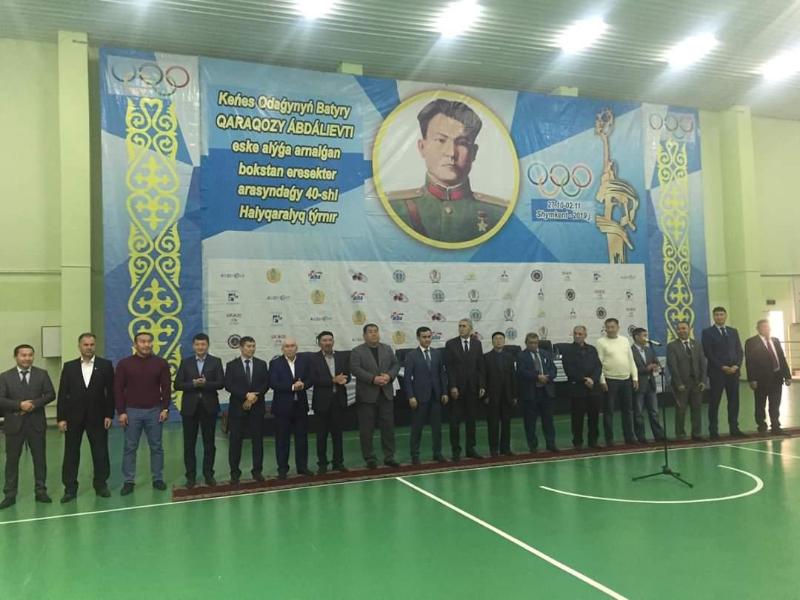 Шымкентте бокстан ХХХХ халықаралық турнир басталды