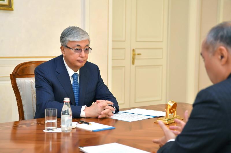 Prezıdent Almatyda Ulttyq keńes múshelerimen kezdesti