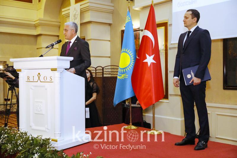 土耳其建国96周年招待会在努尔苏丹举行