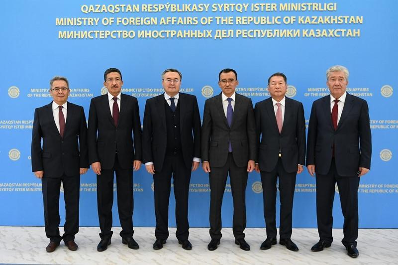 哈萨克斯坦外交部下属对外政策研究所正式成立