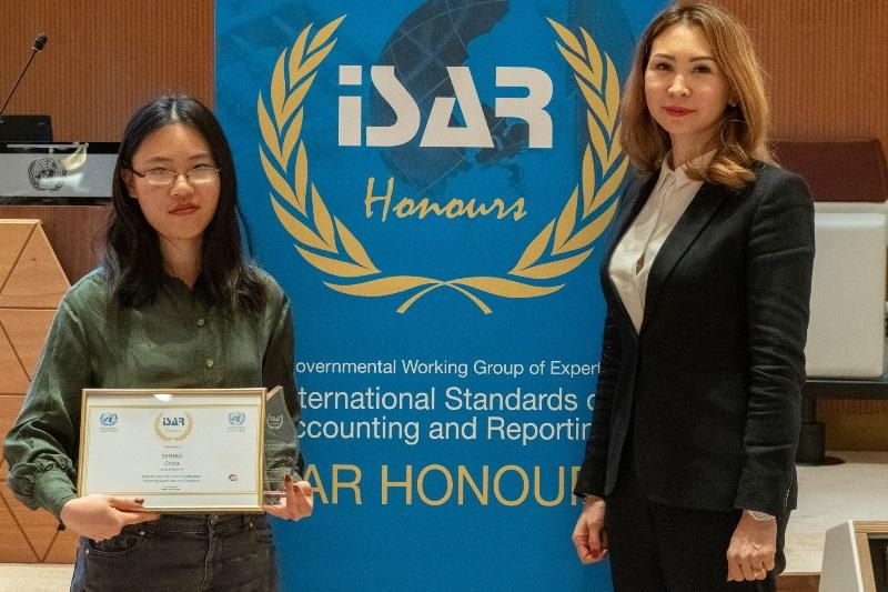 Kazakhstan for the first time ever elected ISAR chairman in Geneva