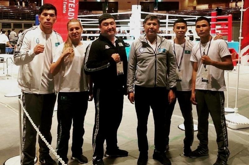 哈萨克斯坦拳击手在东京测试赛中荣获两枚金牌