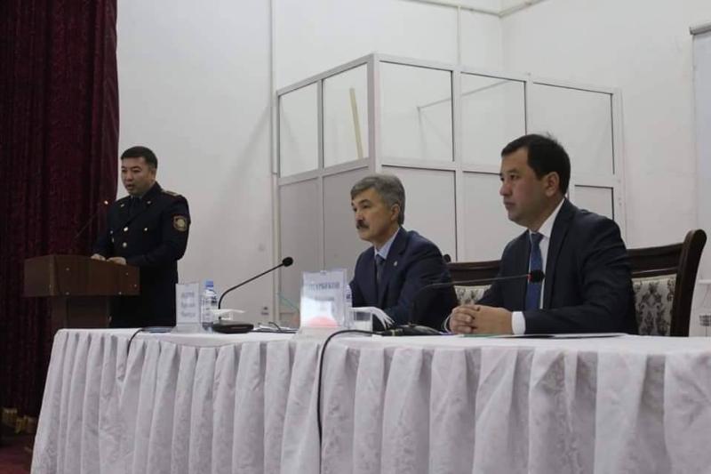 Түркістан облысының прокуроры төлебилік тұрғындармен кездесті