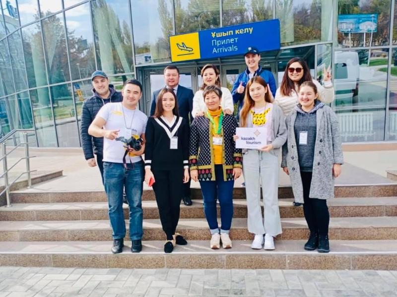 Алматылық және астаналық туркомпаниялар Тараздың тарихи орындарымен танысты