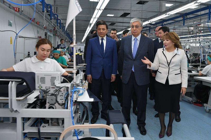ҚР Президенті «Astana Ютария Ltd» компаниясының жұмысымен танысты