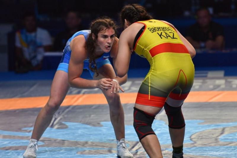 Казахстанка взяла «бронзу» ЧМ (U-23) по женской борьбе