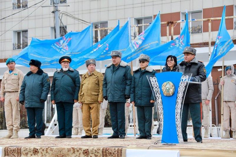 ҚР Қорғаныс министрлігінің өкілдері Көкшетау гарнизонына барды