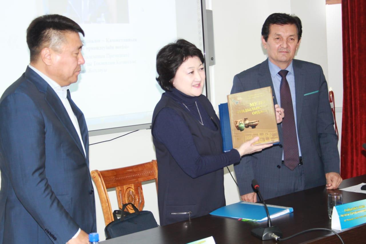 Актоты Райымкулова: Туркестан - исторический и духовный центр тюркских народов