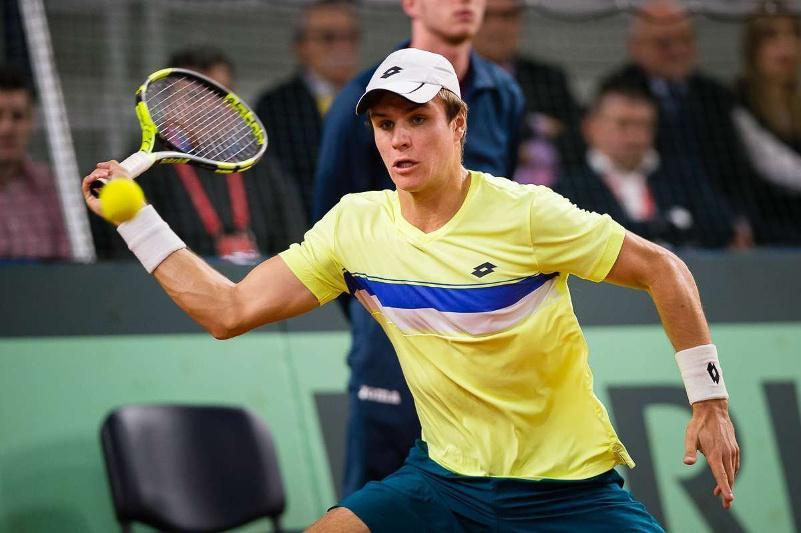 Теннис: қазақстандық Дмитрий Попко АҚШ турнирінің финалына шыға алмады