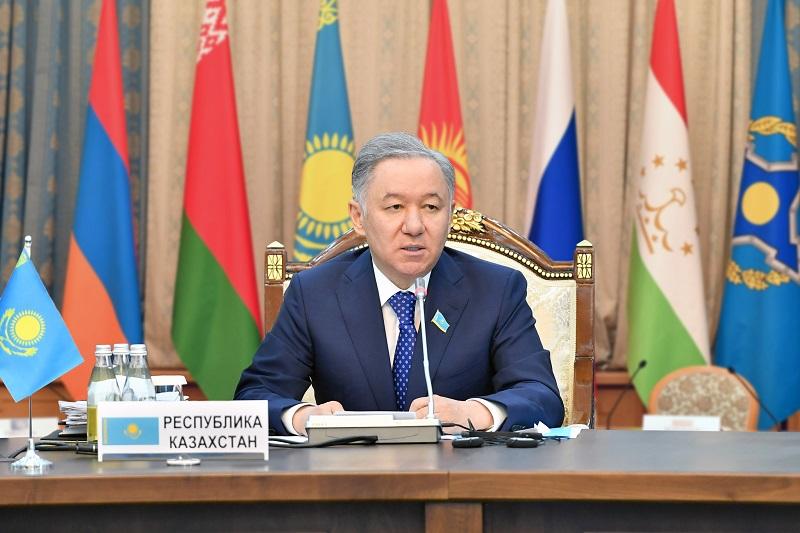 Нурлан Нигматулин примет участие в мероприятиях Парламентской Ассамблеи ОДКБ в Ереване