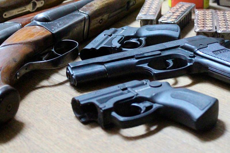 470 единиц оружия изъяли у жителей столицы