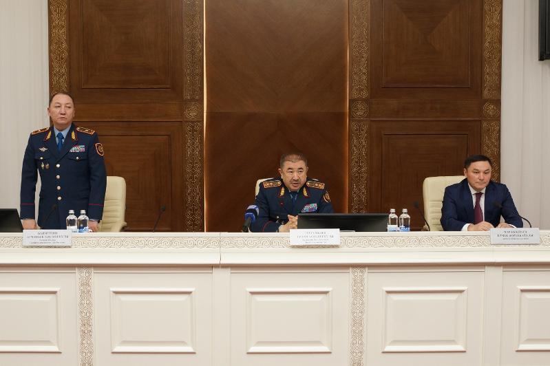 Представлен новый начальник Департамента полиции Акмолинской области