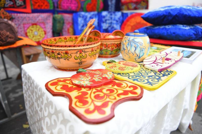 Түркістанда «Craftsman-2019» халықаралық қолөнершілер жәрмеңкесі өтуде