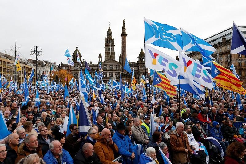 """英国脱欧在即 苏格兰要公投""""脱英"""""""