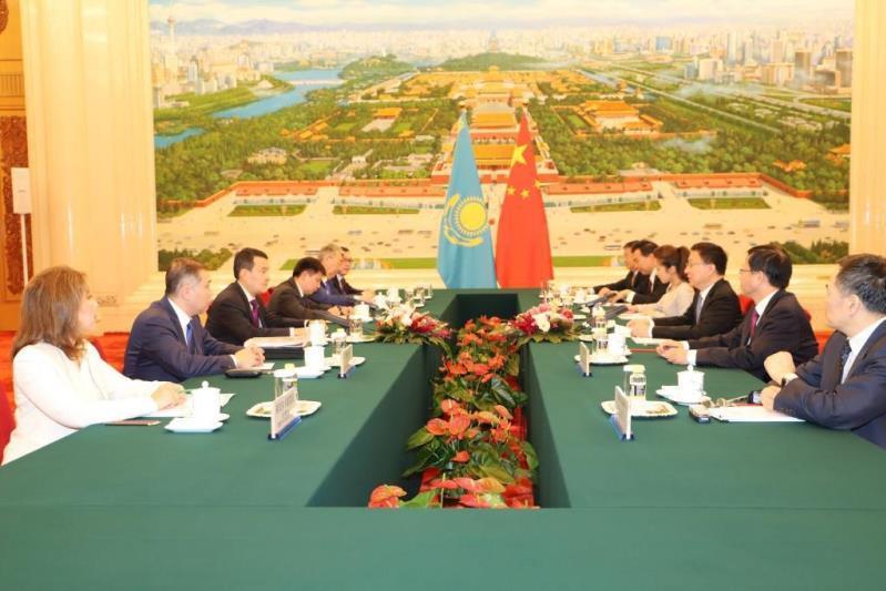 哈中合作委员会第九次会议在京举行