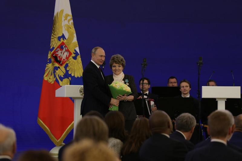 """巴甫洛达尔州居民荣获俄罗斯""""友谊勋章"""""""