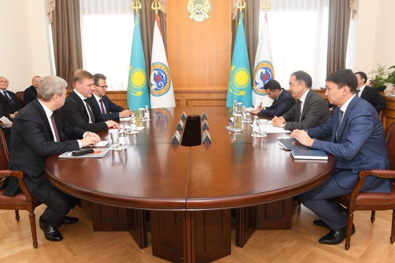 Алматы и Санкт-Петербург разработают Дорожную карту сотрудничества
