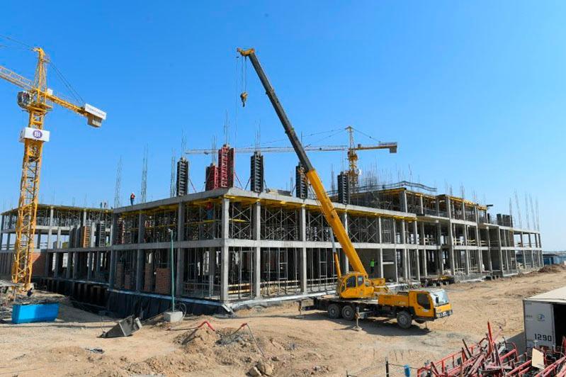 Түркістанда облыстар, ұлттық компаниялар мен бизнестің қатысуымен 28 нысанның құрылысы салынуда
