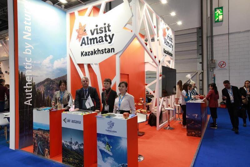哈萨克斯坦旅游公司参加伦敦世界旅游交易会