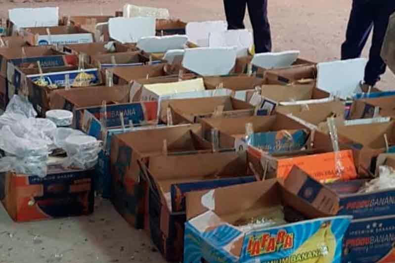 400 кг черной икры, валюту и попугаев изъяли пограничники у контрабандистов