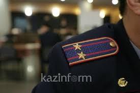Погибших при исполнении служебного долга полицейских вспомнили в Павлодаре