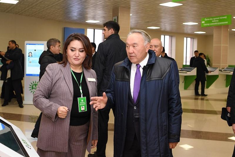 视频:首任总统纳扎尔巴耶夫视察突厥斯坦州之行