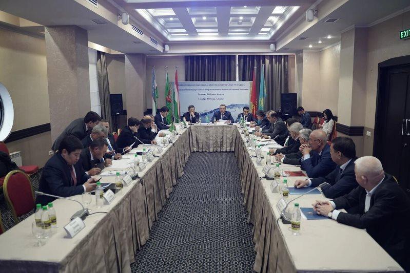 中亚国家水资源管理协调委员会会议在阿拉木图举行