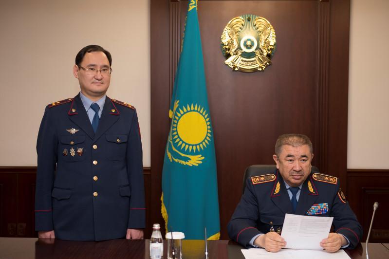 ҚР ІІМ Тергеу департаментіне жаңа басшы тағайындалды