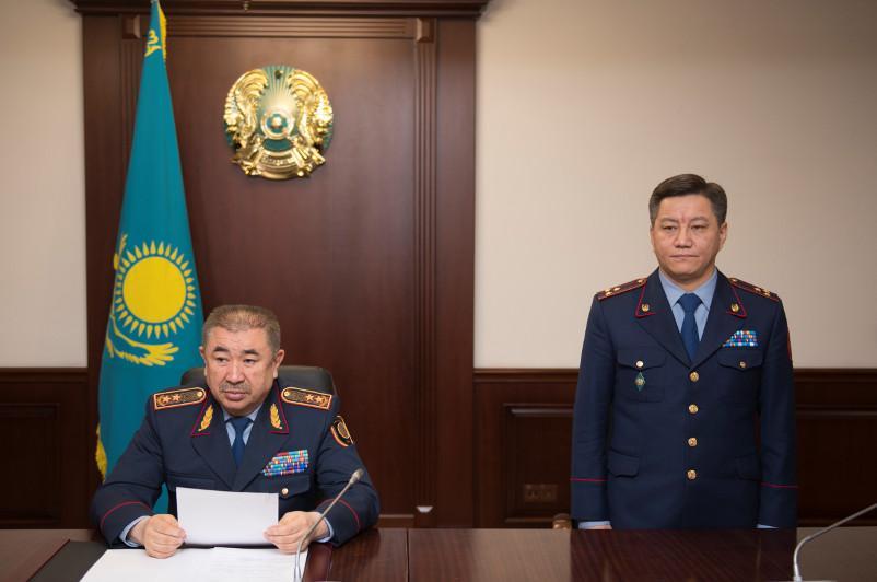 Оңал Бекиев Көліктегі полиция департаментінің басшысы болды