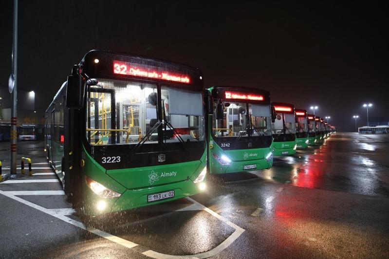 Алматыда № 32 бағыттағы автобустар толық жаңарды