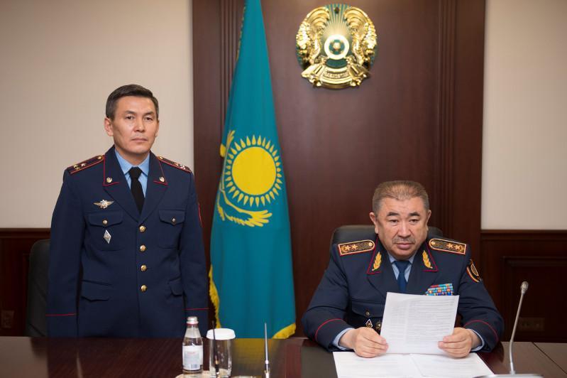Есқали Саламатов Қылмыстық-атқару жүйесі комитеті төрағасының орынбасары  болды