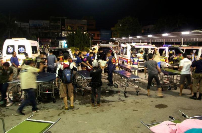 15 vigilantes killed at night by gunmen in southern Thailand