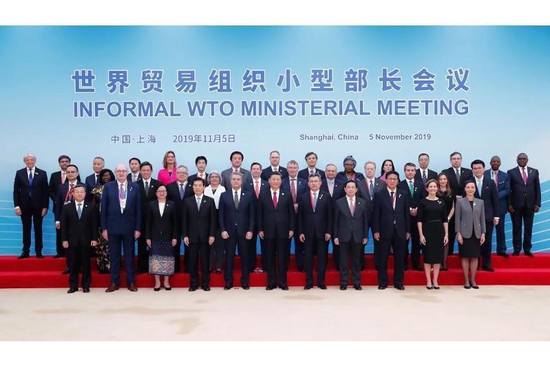 苏勒坦诺夫出席世贸组织小型部长会议