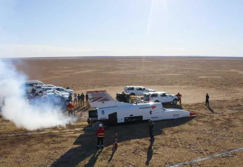 Bloodhound LSR автомобилі сағатына 790 шақырым жылдамдықты бағындырды