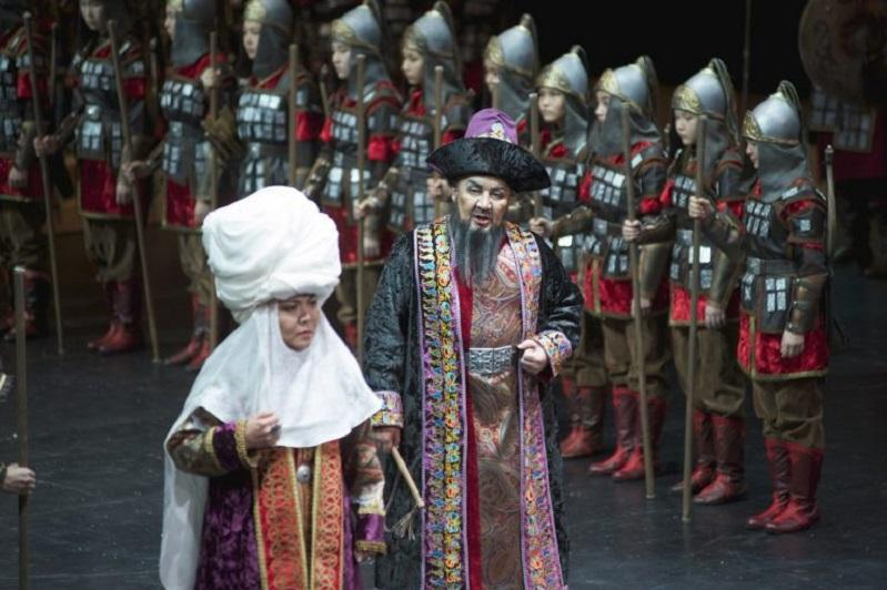 New Zhibek on the Astana Opera Stage