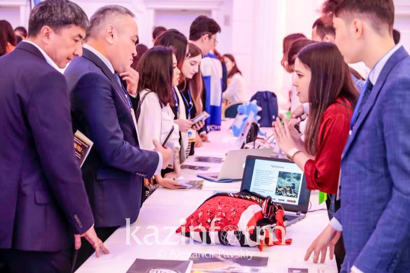 Более 800 молодых стартаперов страны представляют новые проекты в Алматы