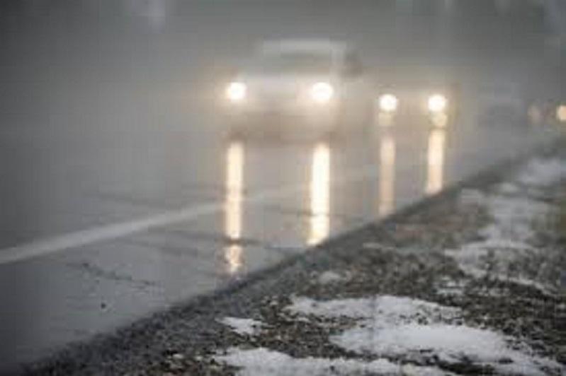 Fog and ice slick forecast in Kazakhstan Nov 8