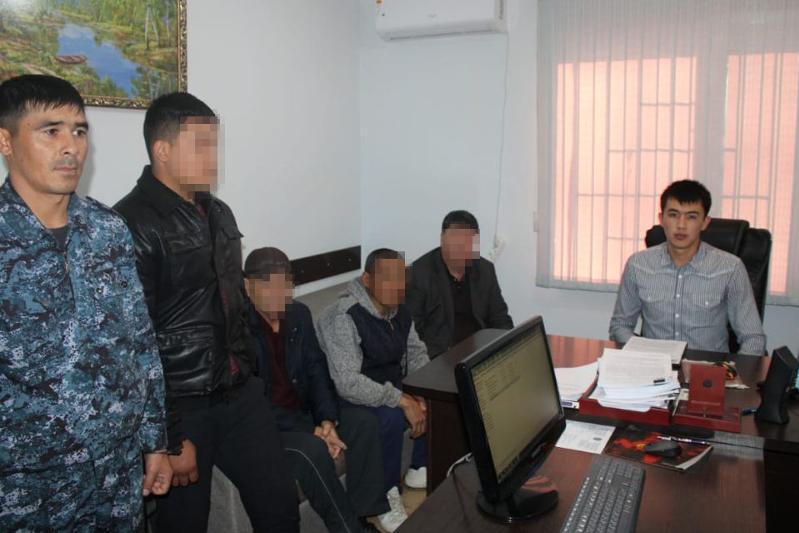 Разбойное нападение на пункт приема хлопка раскрыли в Туркестанской области